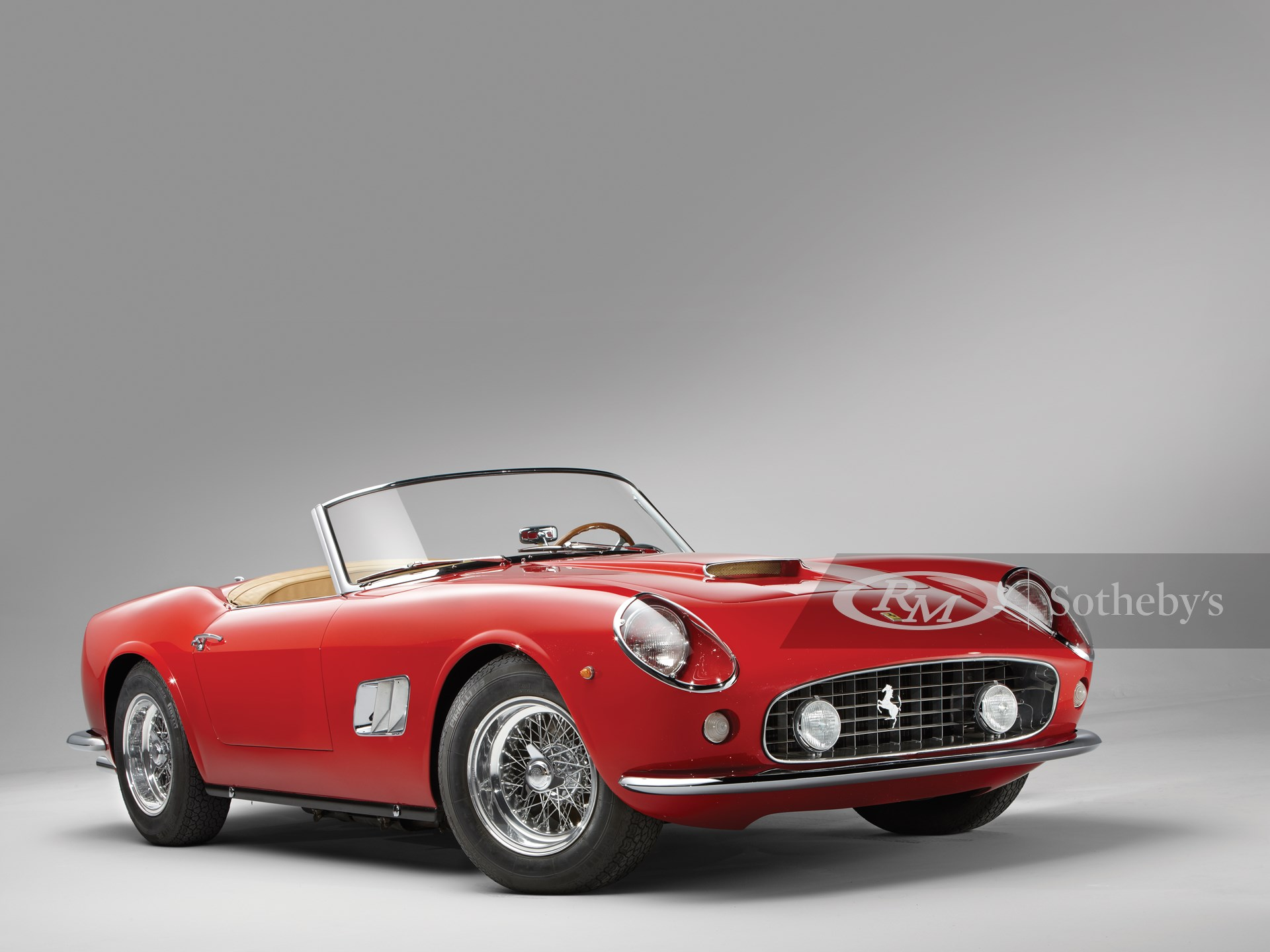1962 Ferrari 250 Gt Swb California Spyder Monterey 2012 Rm Sotheby S