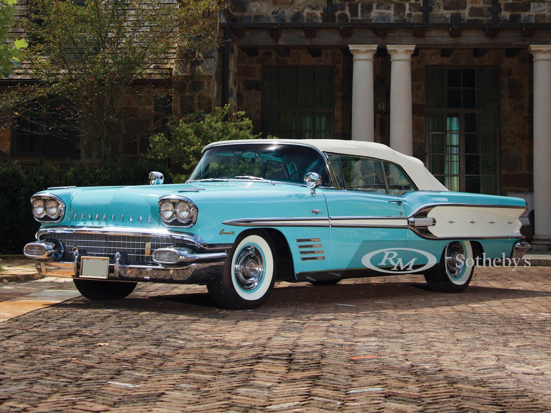 1958 Pontiac Bonneville Tri Power Convertible Arizona 2014 Rm Sotheby S