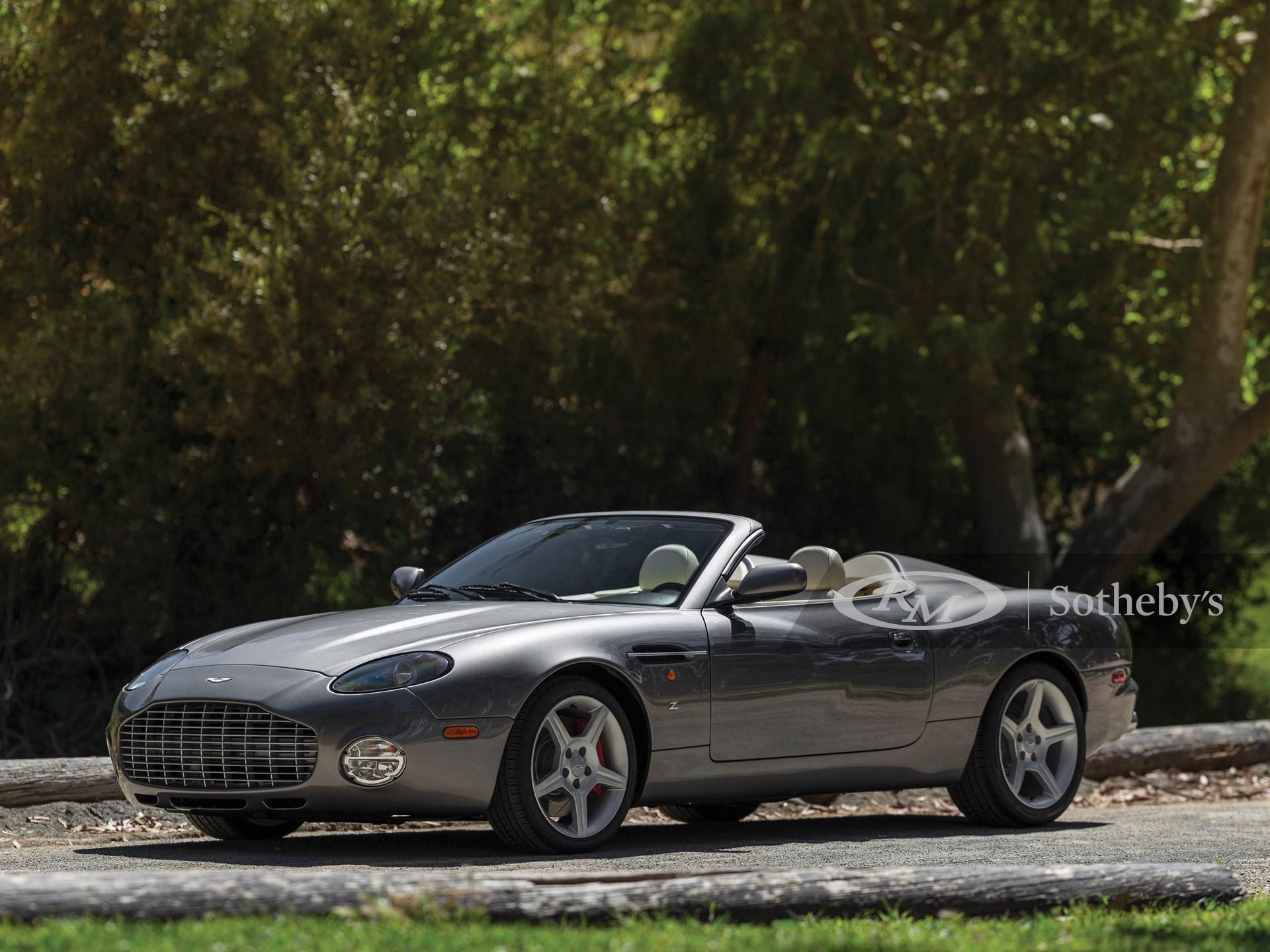 2003 Aston Martin Db Ar1 Zagato Monterey 2019 Rm Sotheby S