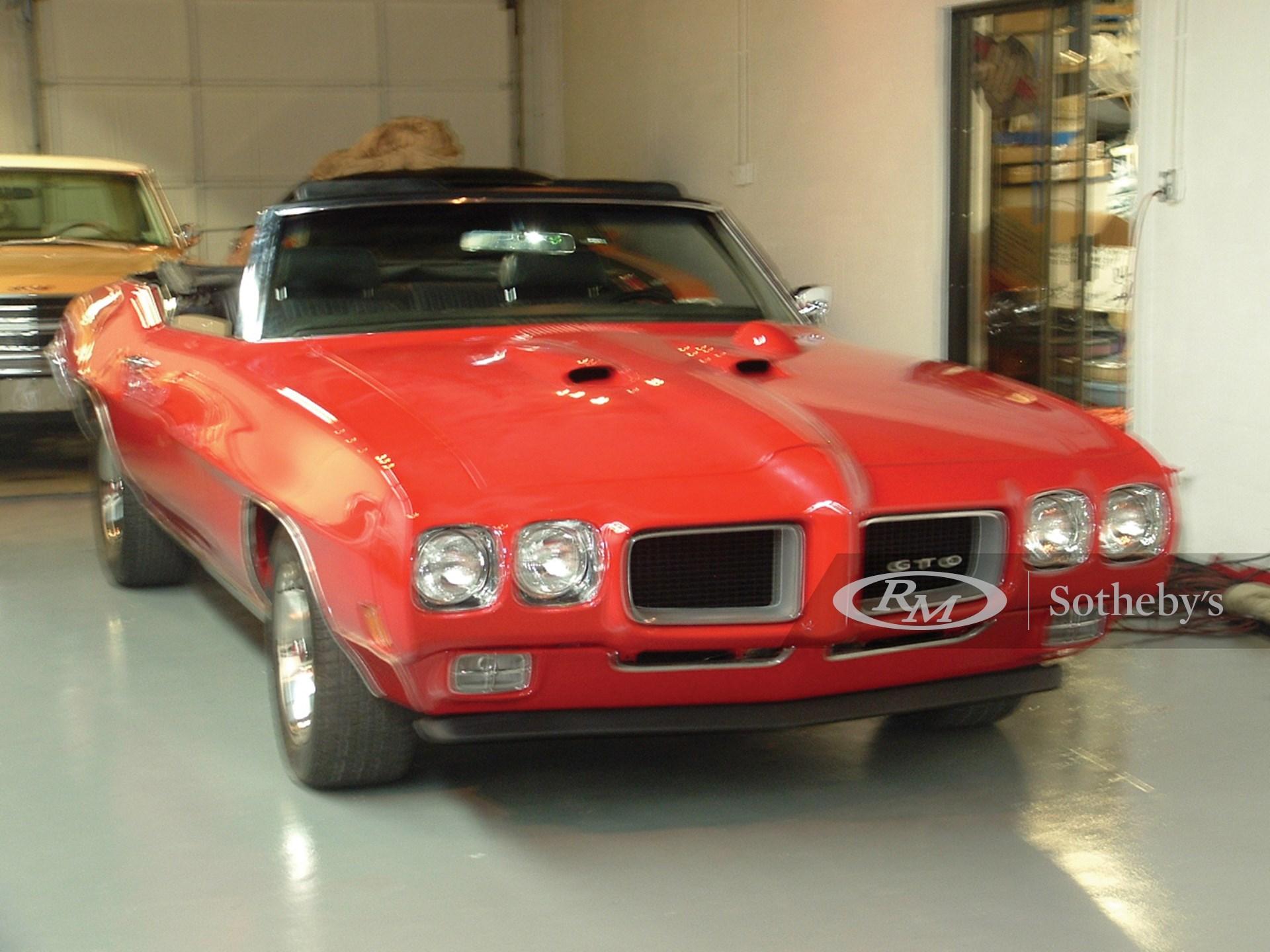 1970 Pontiac GTO Convertible  -