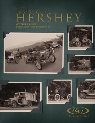 Vintage Motor Cars Of Hershey, 2010