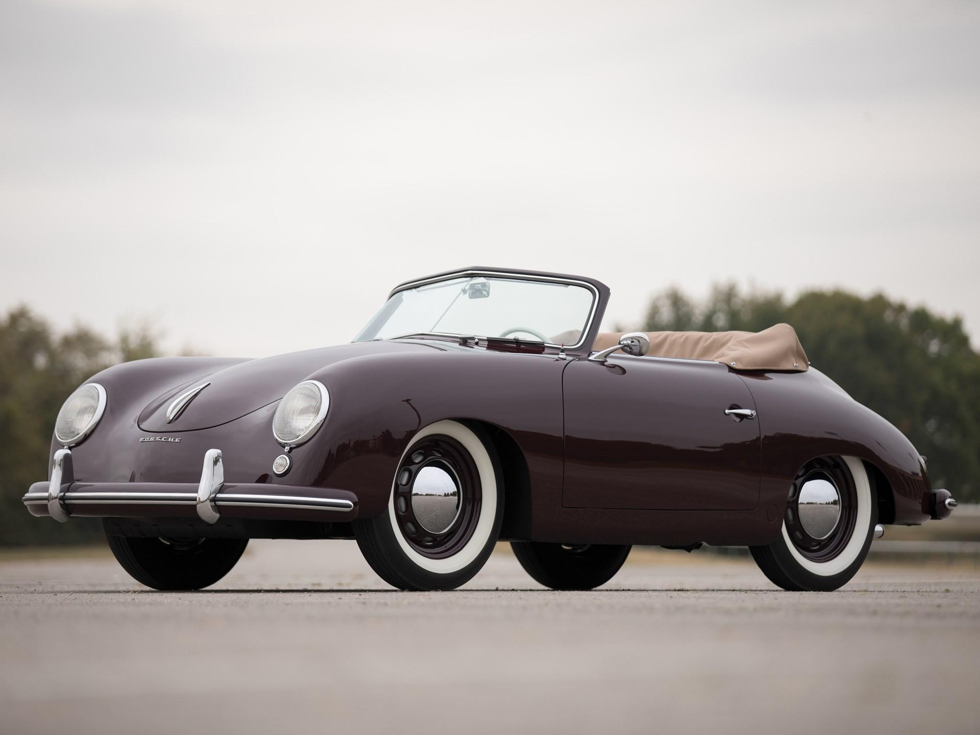rm sotheby 39 s 1953 porsche 356 1500 cabriolet by reutter arizona 2018. Black Bedroom Furniture Sets. Home Design Ideas