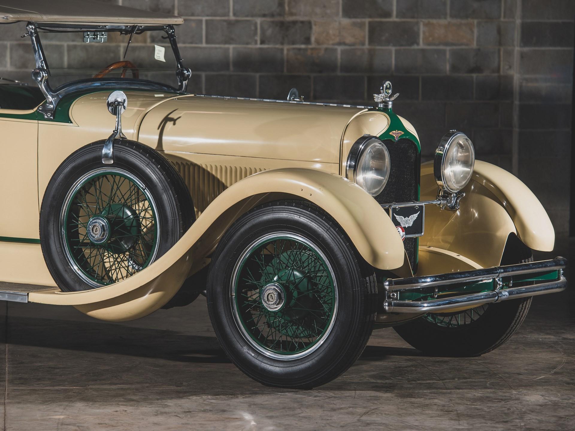 1927 Duesenberg Model X Dual-Cowl Phaeton by Locke