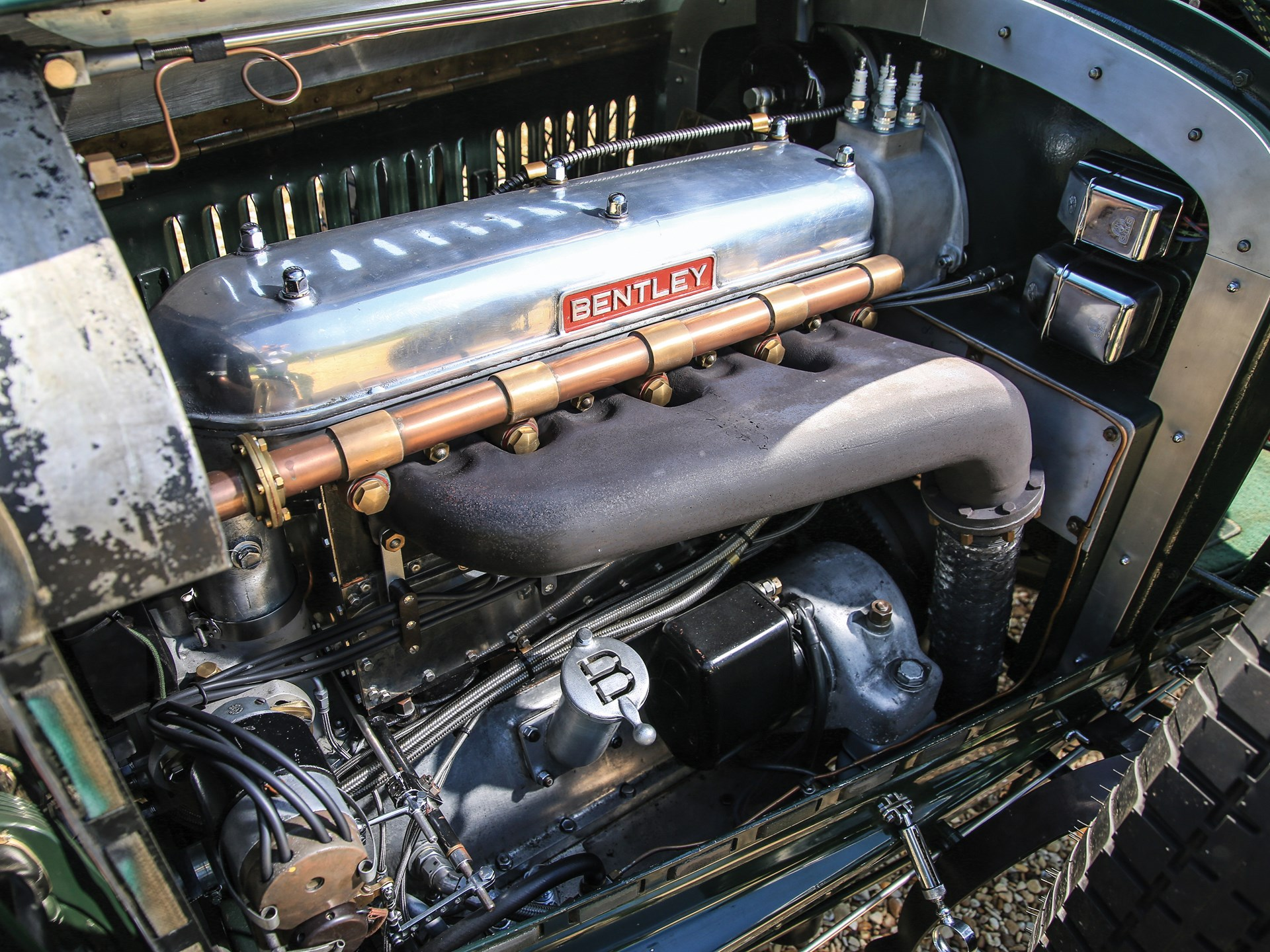1929 Bentley 4½-Litre Supercharged Tourer Recreation by Graham Moss