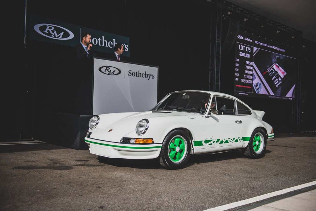 RM Sotheby's - The Porsche 70th Anniversary Auction 2018