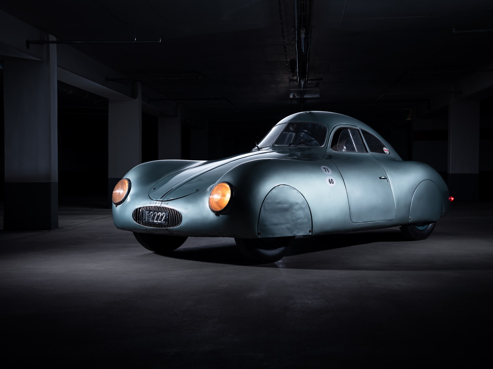 نتيجة بحث الصور عن ‪Porsche Model 64 at Sotheby's auction‬‏