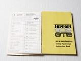 Ferrari 308 GTB Owner's Manual, 1975 - $
