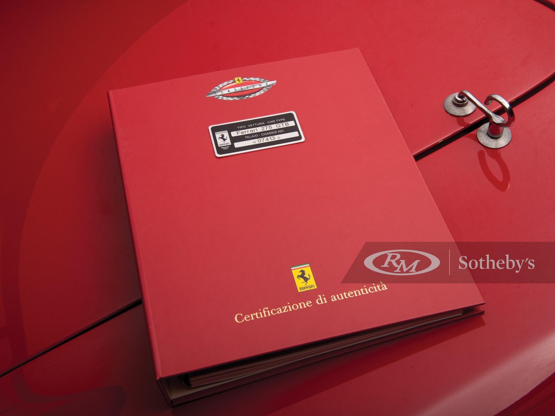 1966 Ferrari 275 GTB/C by Scaglietti -