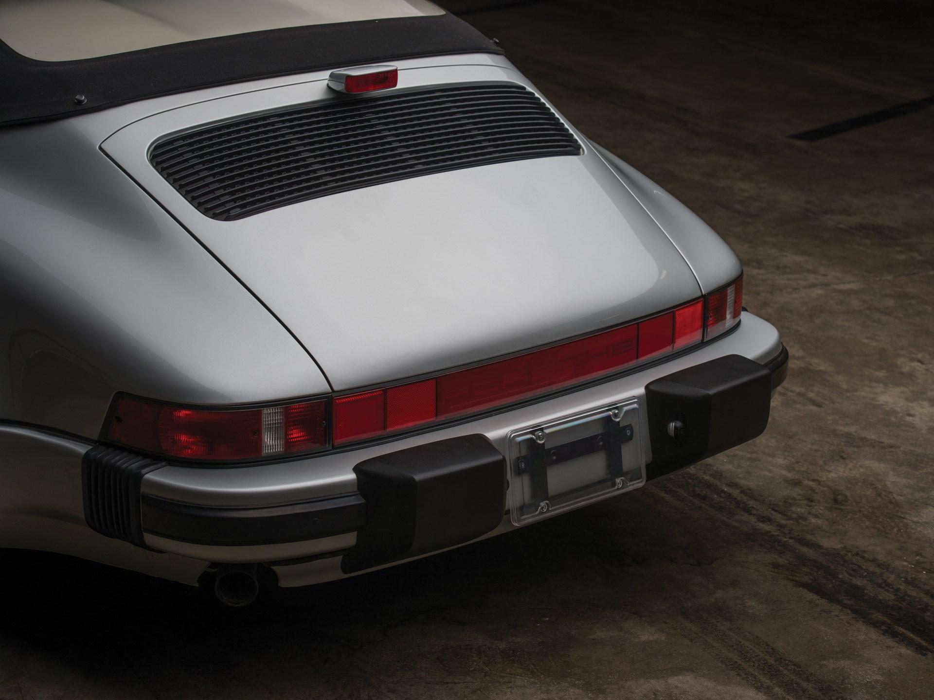 Rm Sotheby S 1989 Porsche 911 Speedster Monterey 2017