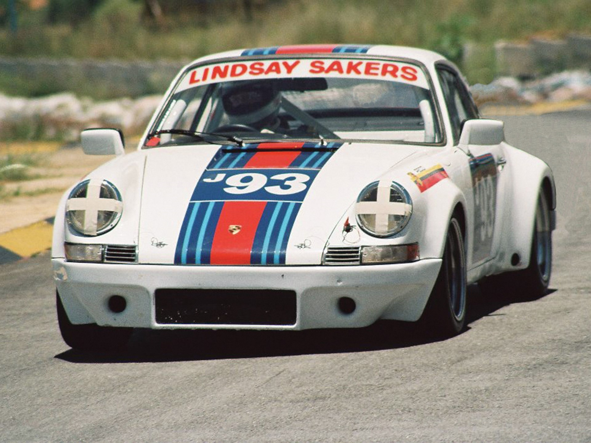 The 2.7 RS takes to the track in South Africa at Kyalami.