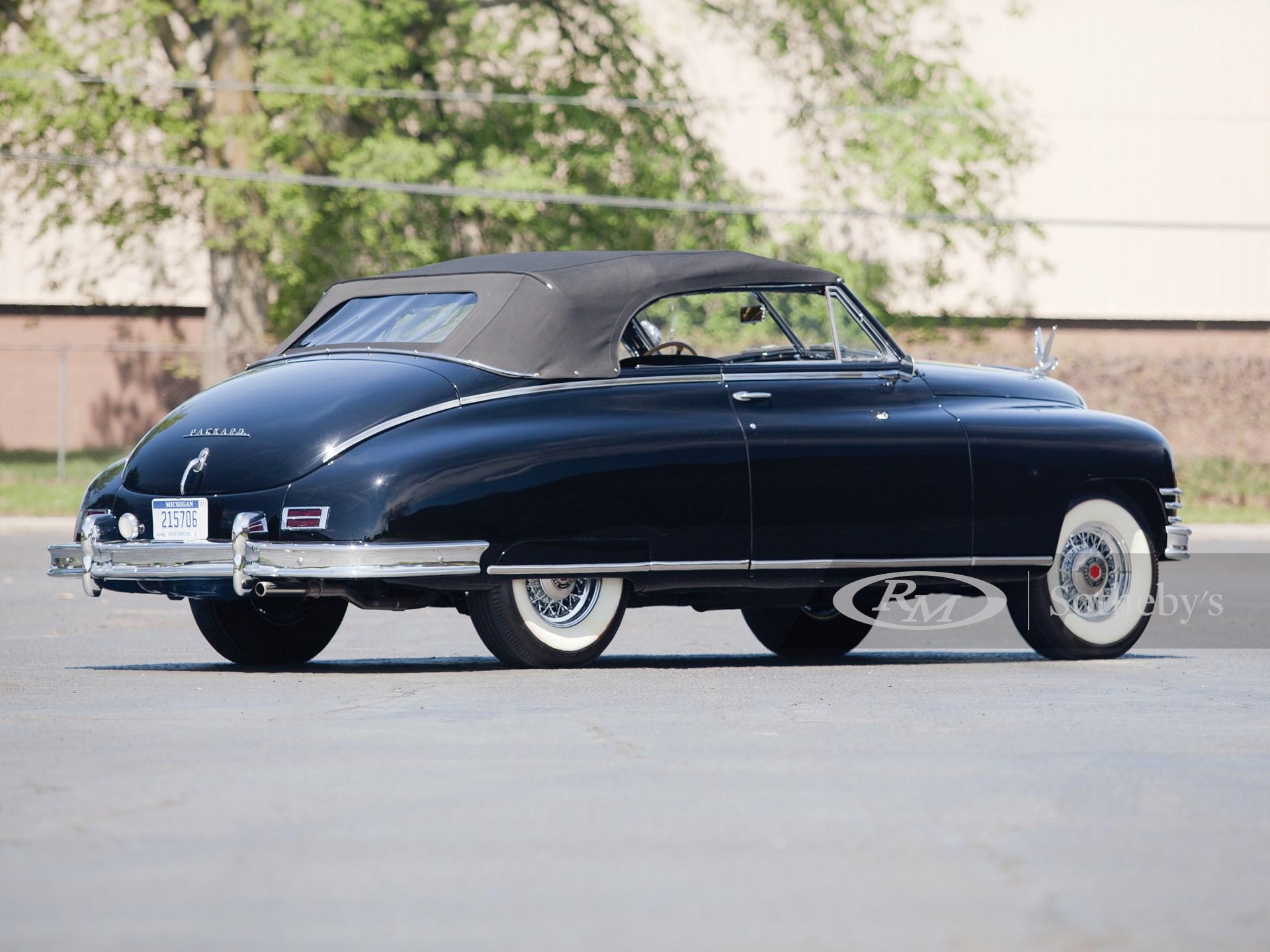 1948 Packard Super Eight Convertible Victoria