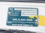1981 Talbot Sunbeam Lotus  - $