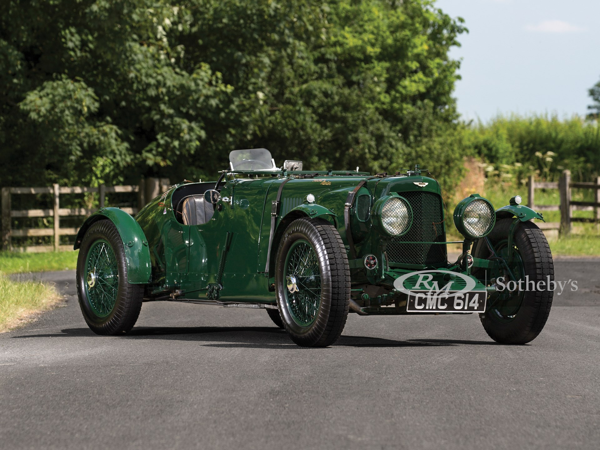 1935 Aston Martin Ulster Competition Sports Monterey 2017 Rm Sotheby S