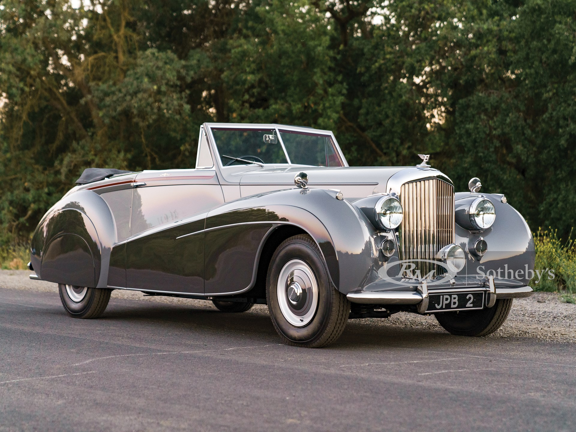 1952 Bentley Mark VI Drophead Foursome Coupe by Mulliners of Birmingham