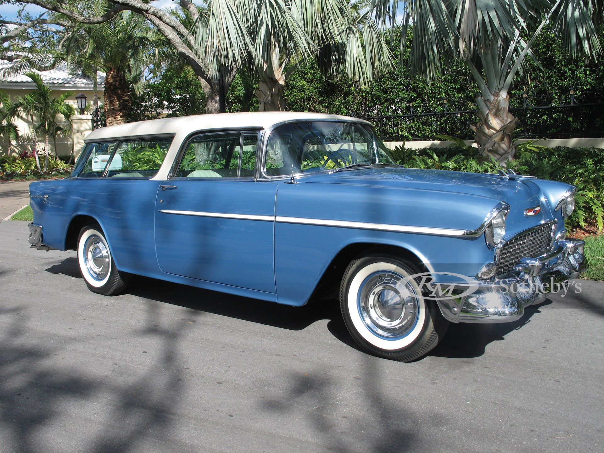 1955 Chevrolet Nomad 2D  -