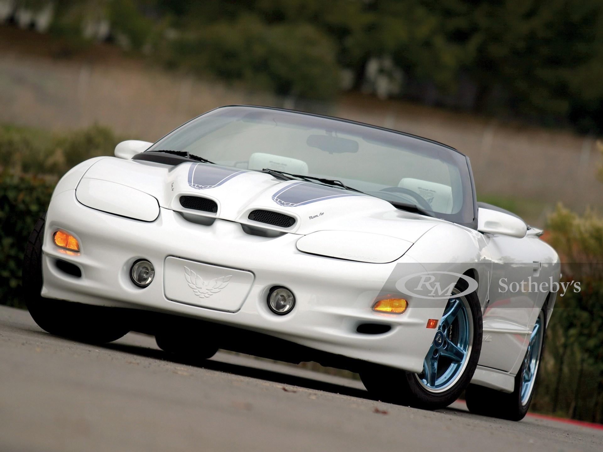1999 Pontiac Firebird Trans Am 30th Anniversary Special Edition Convertible