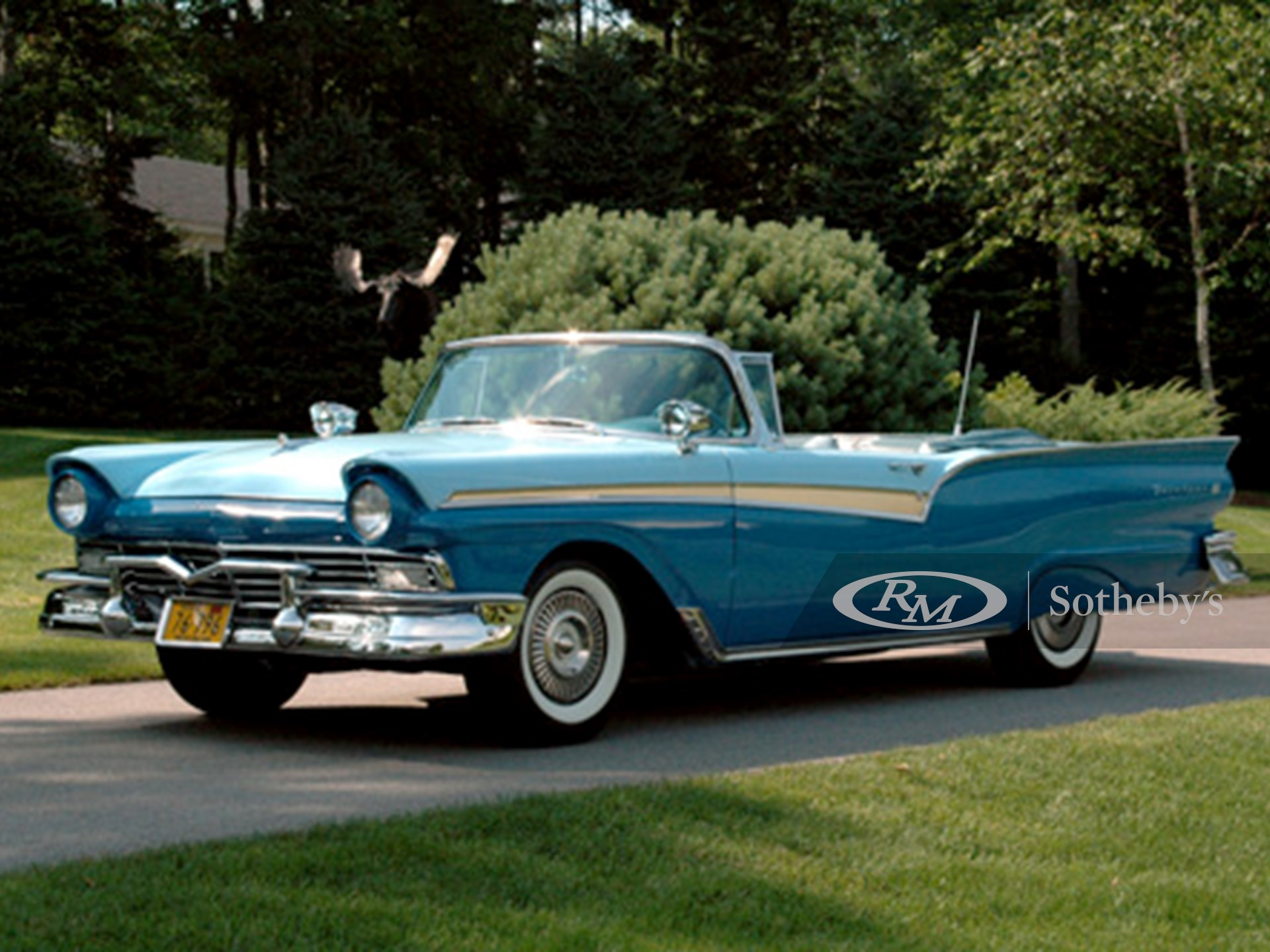 1957 Ford Fairlane Convertible  -