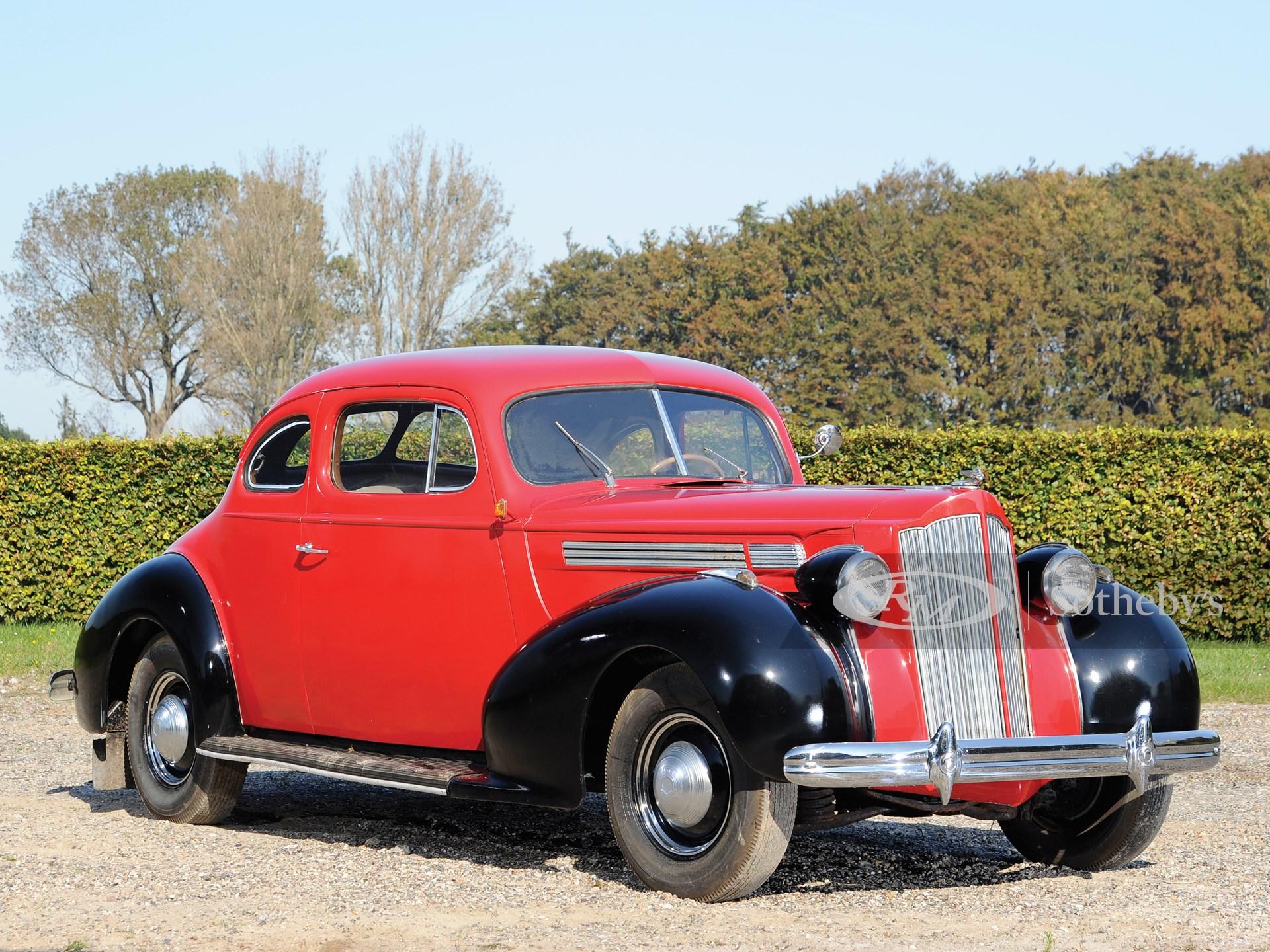 1938 Packard Eight Series 1601 Club Coupé