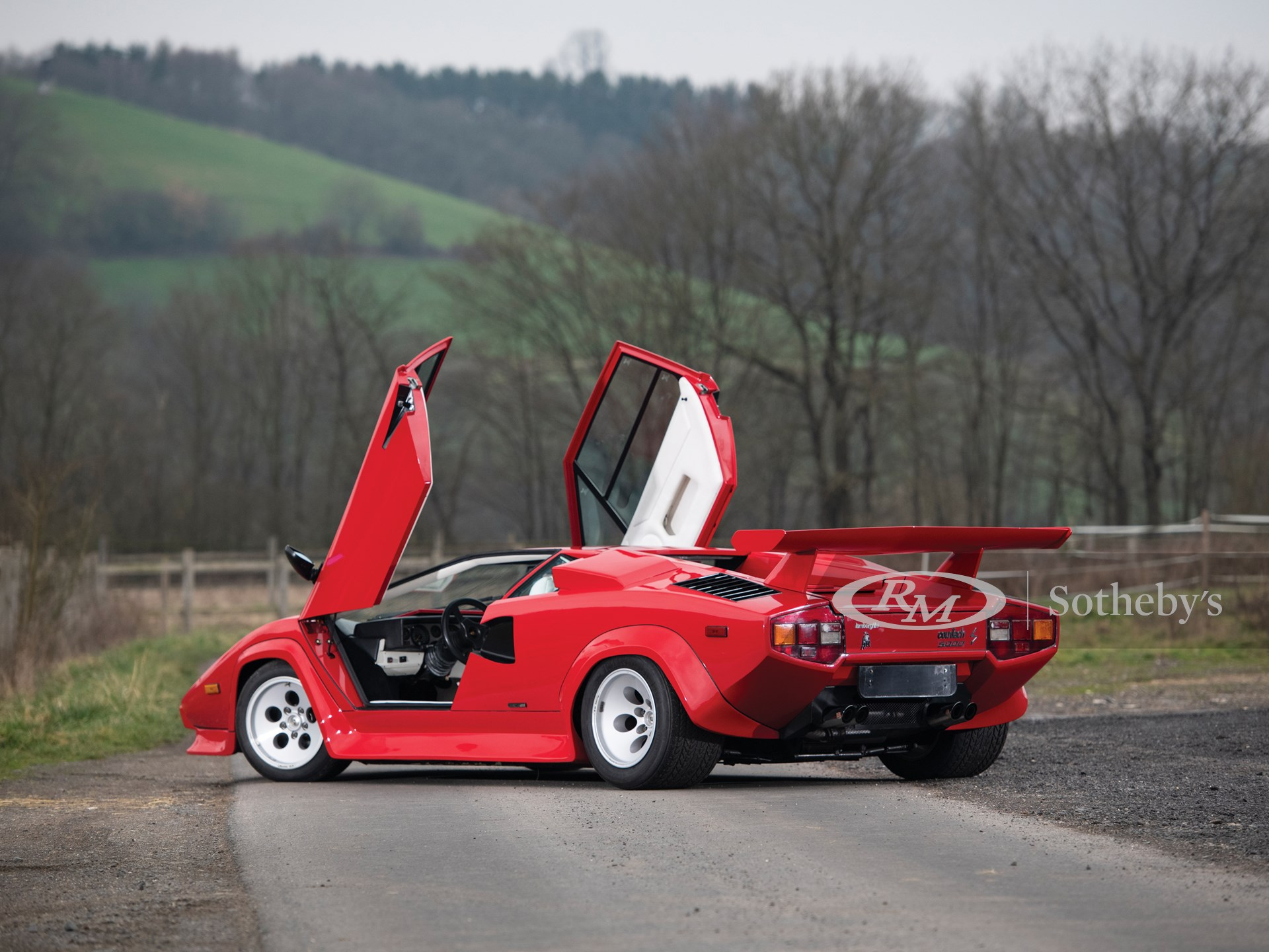 1984 Lamborghini Countach LP500 S by Bertone -