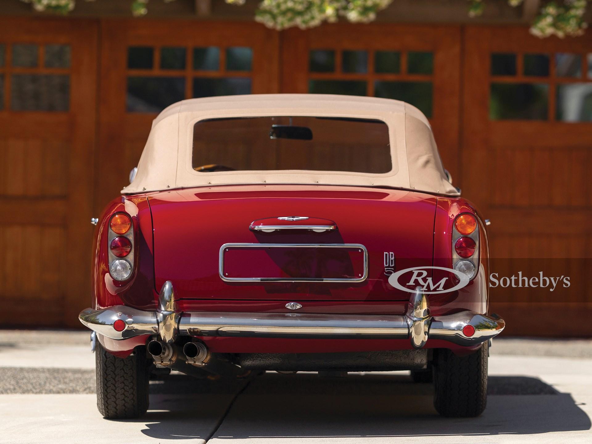 1965 Aston Martin DB5 Vantage Convertible  -