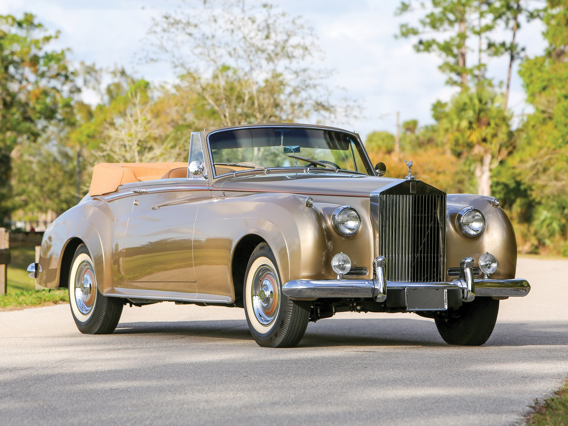 1959 Rolls Royce Silver Cloud I Drophead Coupe Adaptation By H J Mulliner