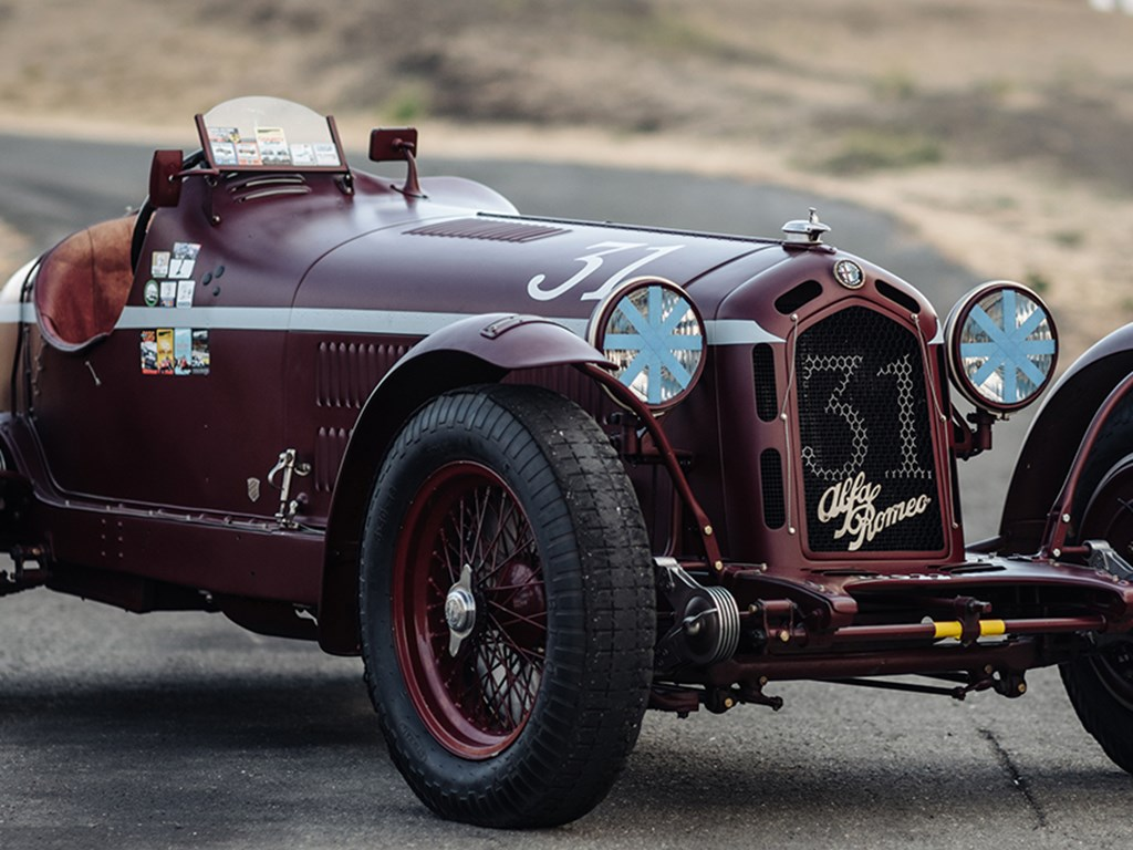 1935 Alfa Romeo 8C 35 Offered at RM Sothebys Monterey Live Auction 2021