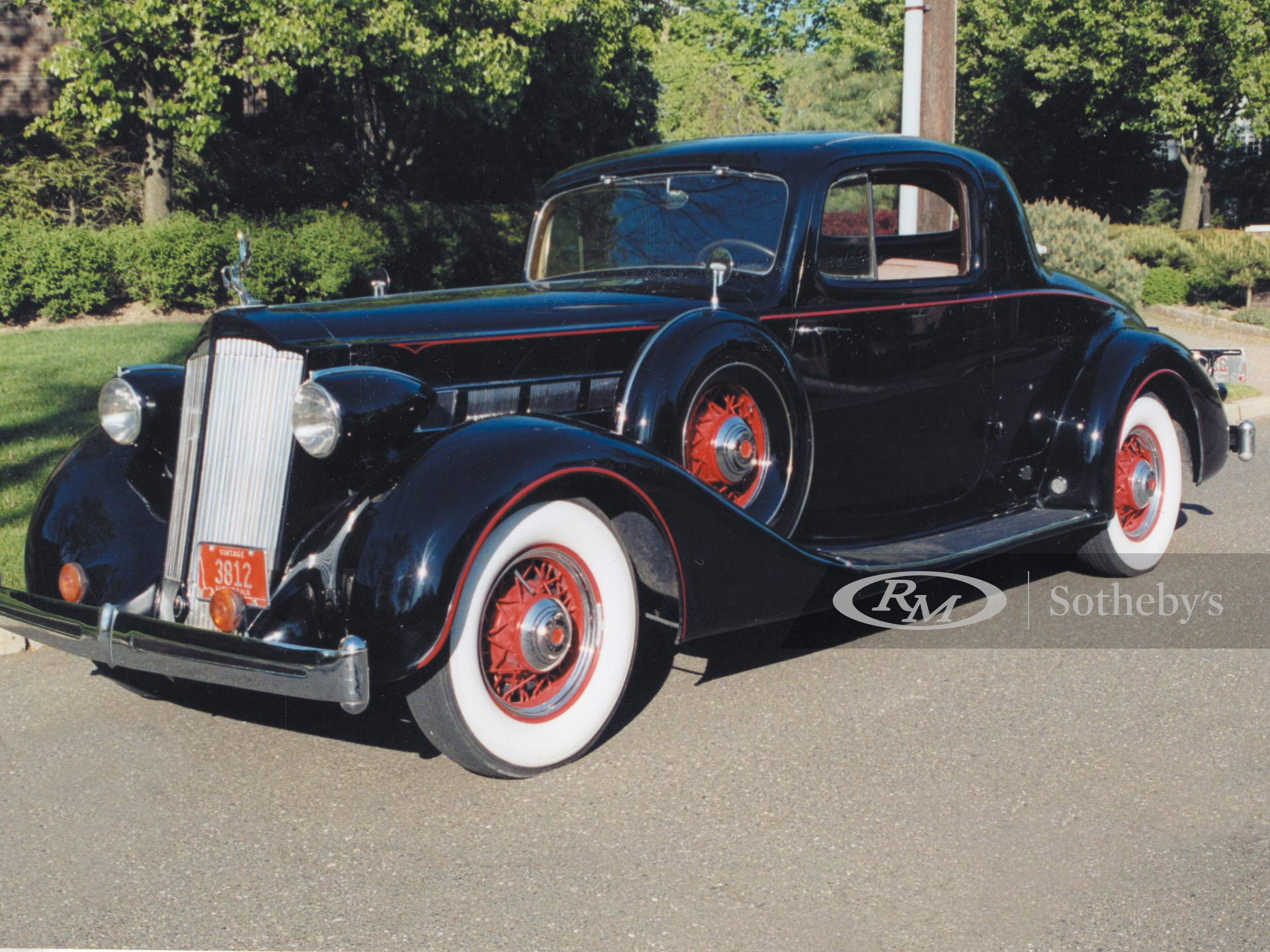 1936 Packard Eight 2/4P Coupe