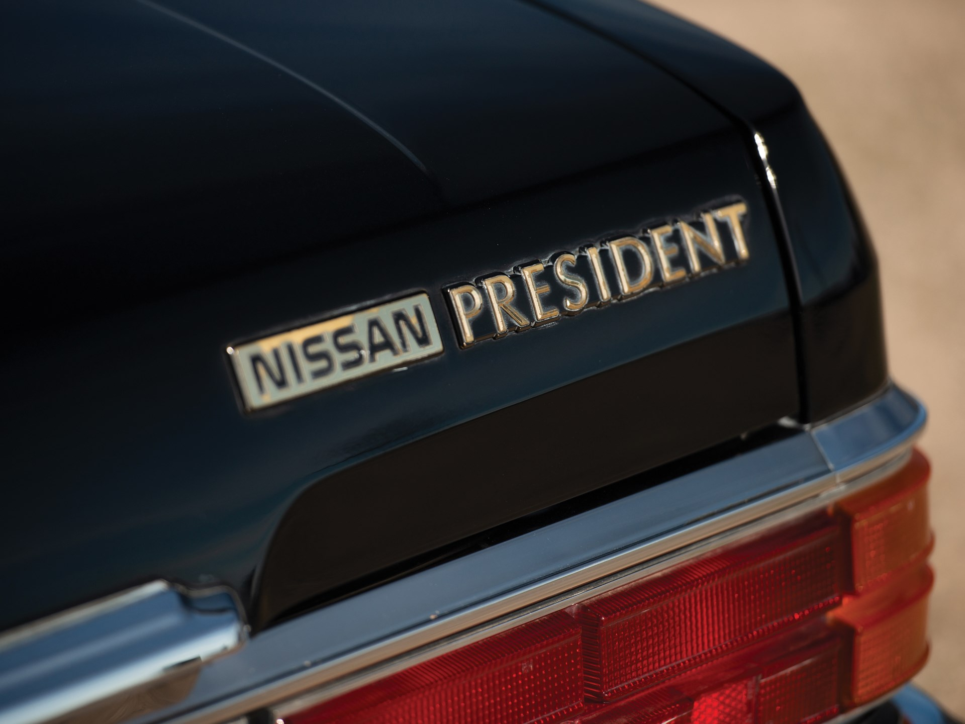 RM Sotheby's - 1987 Nissan President Sovereign V8E VIP