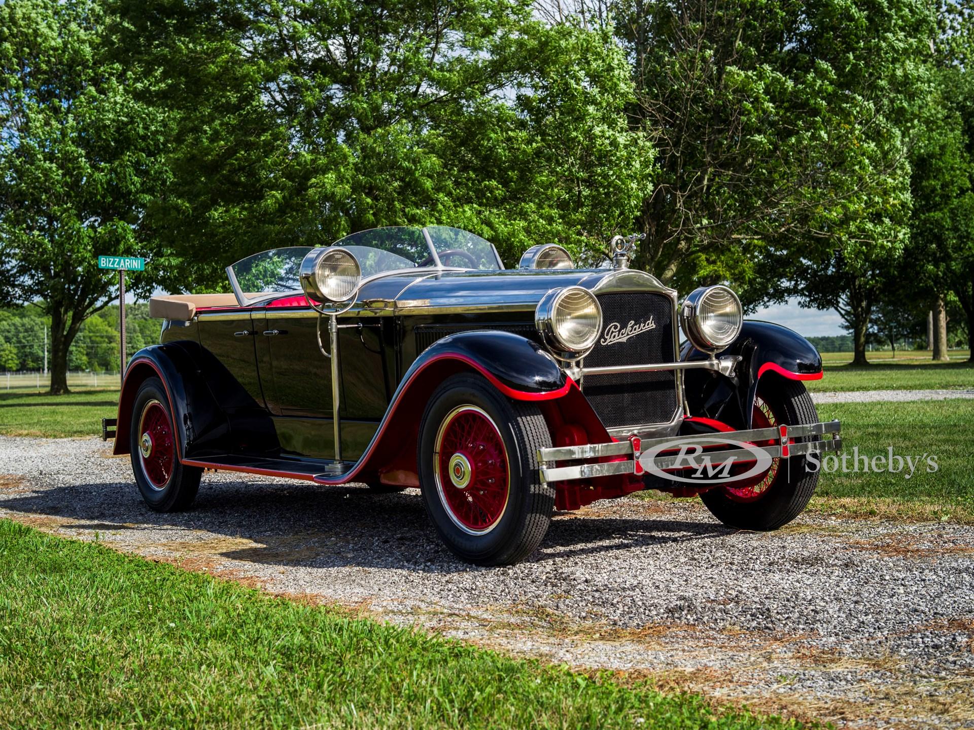 1927 Packard Eight 336 Dual Cowl Sport Phaeton