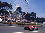 1981 Ferrari 512 BB/LM  - $Entered by Scuderia Supercar Bellancauto, #45 Ferrari 512 BB/LM races in the 1981 24 Hours of Le Mans.