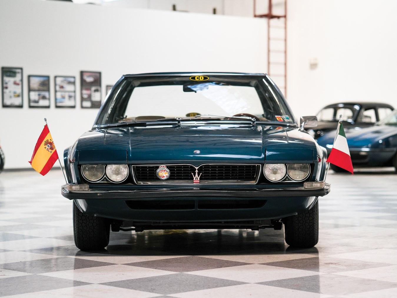 1971 Maserati Quattroporte Prototipo by Frua