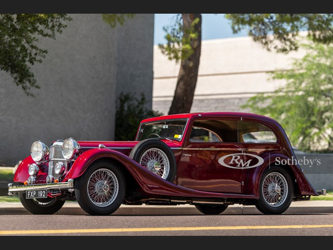 1939 Alvis Speed 25 Pillarless Two-Door Saloon