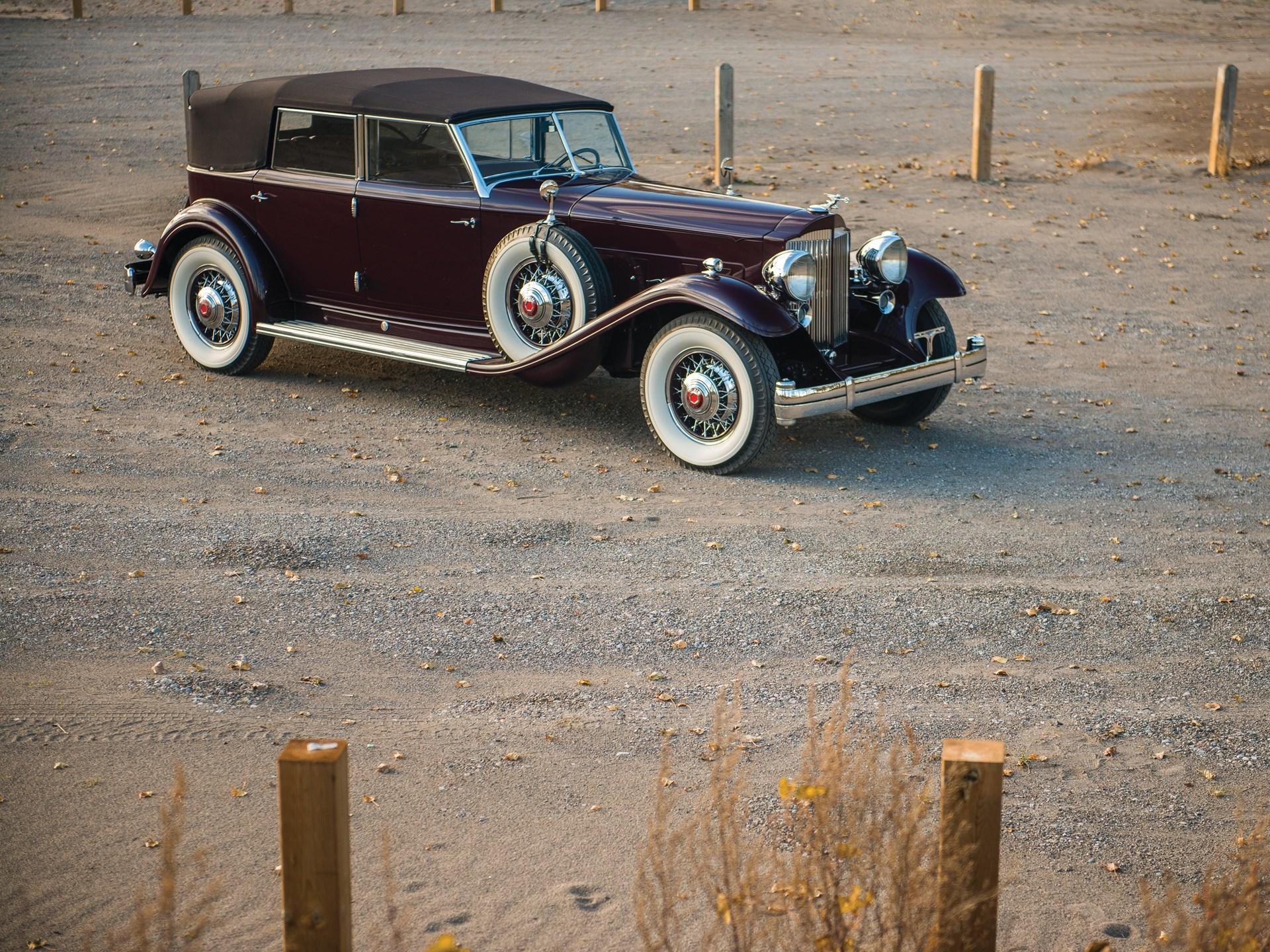 Image result for rm hershey 2018 1932 Packard Twin Six Dietrich Individual Custom Convertible Sedan