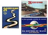 24 Heures Du Mans Original Event Posters, 1972-1974 - $
