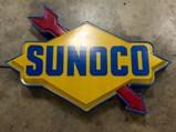 Sunoco Lighted Plastic Sign - $