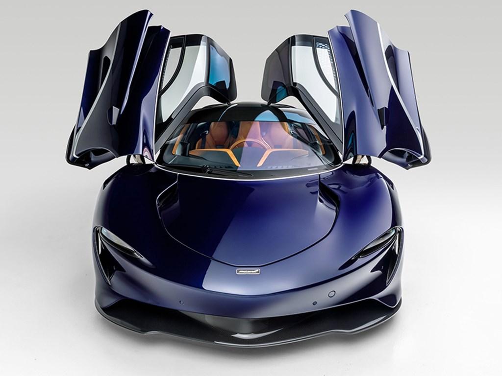 2020 McLaren Speedtail offered at RM Sothebys Arizona Live Auction 2021