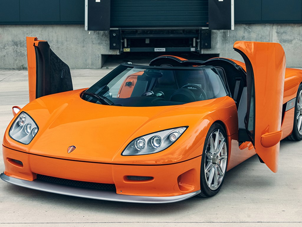 2004 Koenigsegg CCR offered at RM Sothebys Milan Live Auction 2021