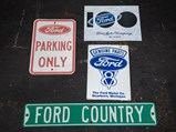 Assorted Ford Signs - $