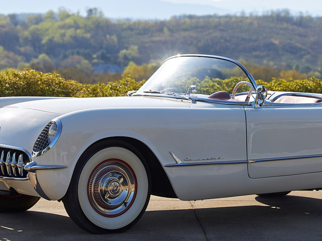 1953 Chevrolet Corvette available at RM Sothebys Amelia Island Live Auction 2021