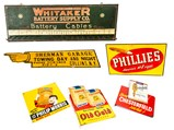 Automotive Stamped Steel Signs - $
