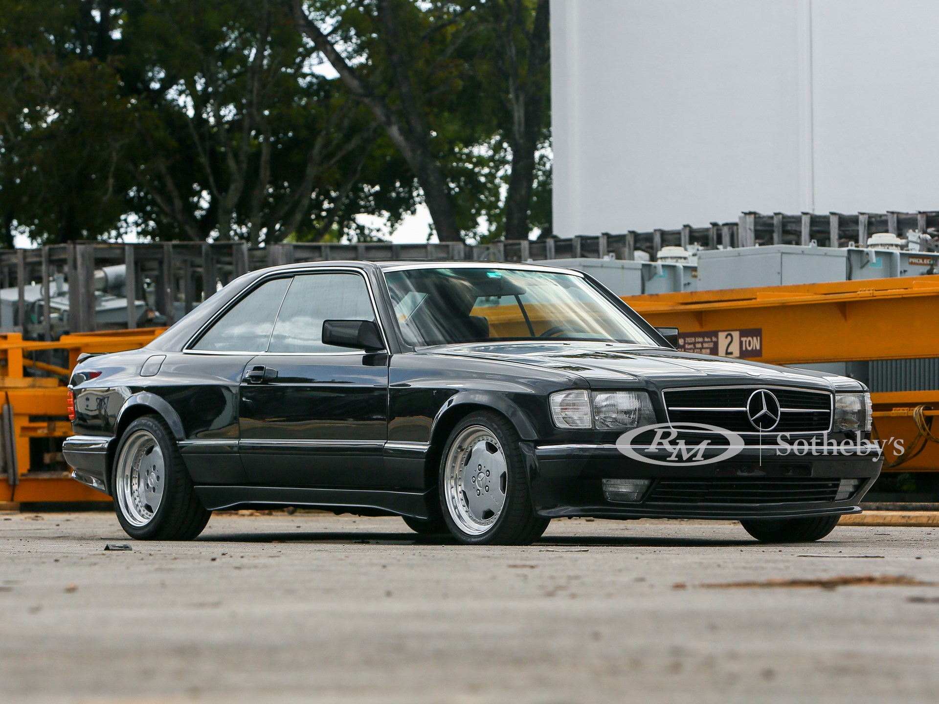 1990 Mercedes Benz 560 Sec Amg 6 0 Wide Body Amelia Island 2020 Rm Sotheby S