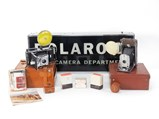 """Polaroid 300 Series Land Cameras and Accessories with """"Camera Department"""" Lighted Sign - $"""