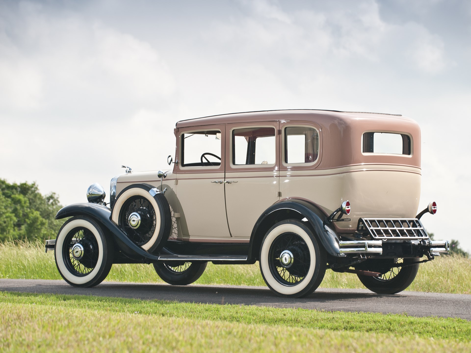 Rm Sothebys 1931 Chevrolet Ae Independence Sedan The Charlie 1930 Chevy Spare Tire Mount