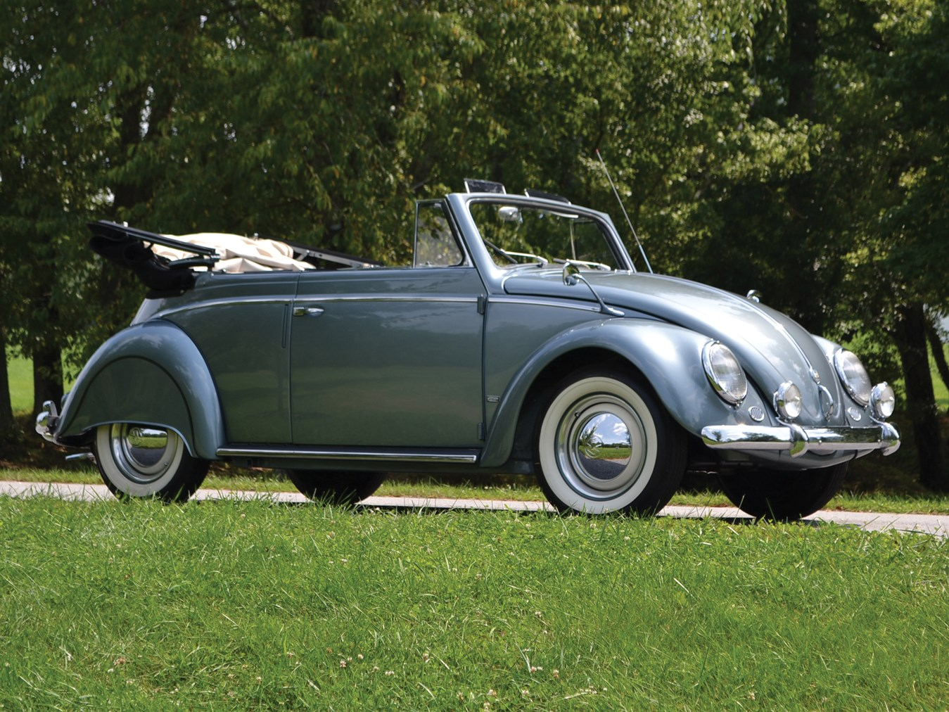 RM Sotheby's - 1955 Volkswagen Beetle Cabriolet by Karmann ...