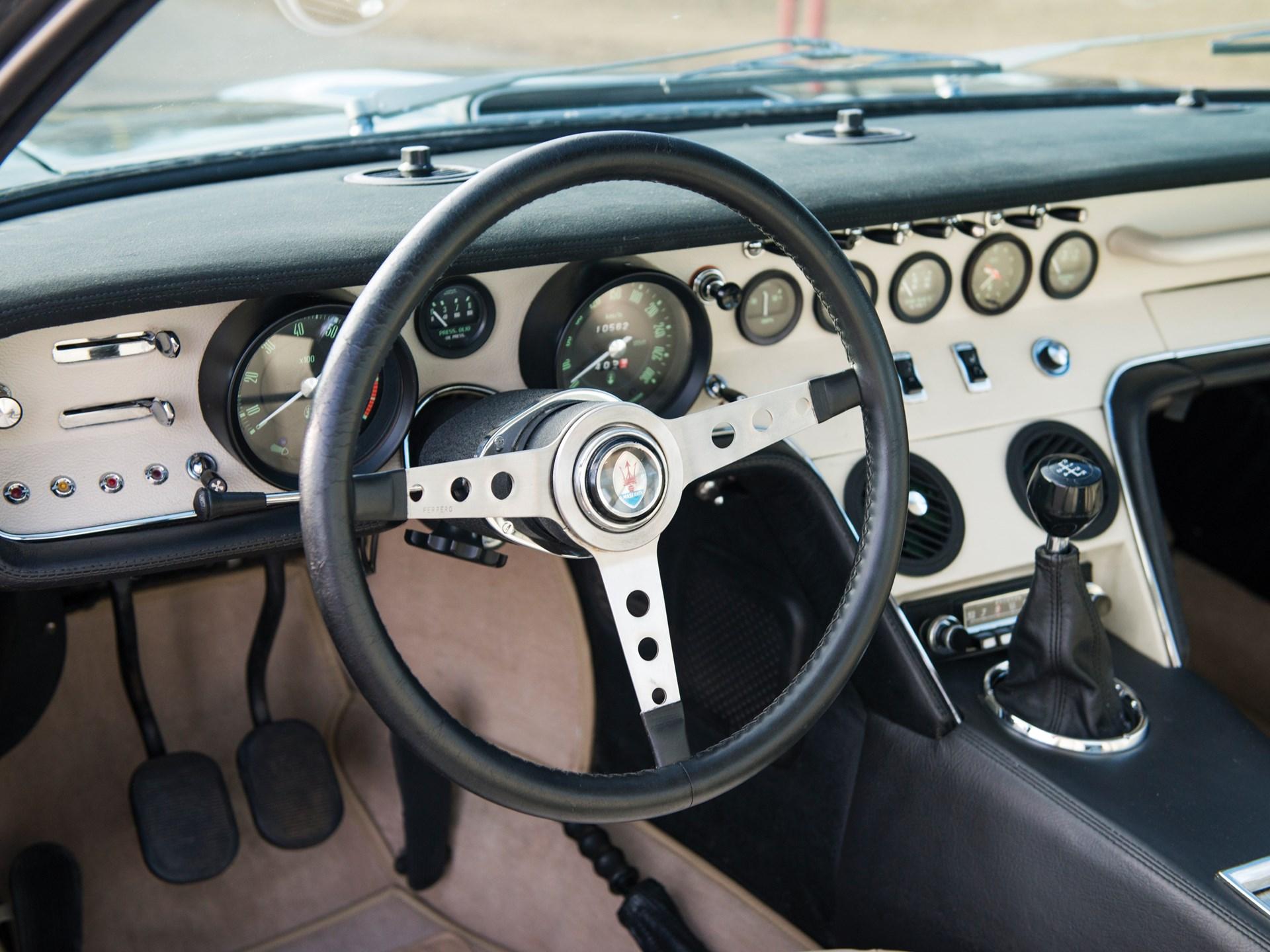 1969 Maserati Ghibli 4.7 Coupe by Ghia