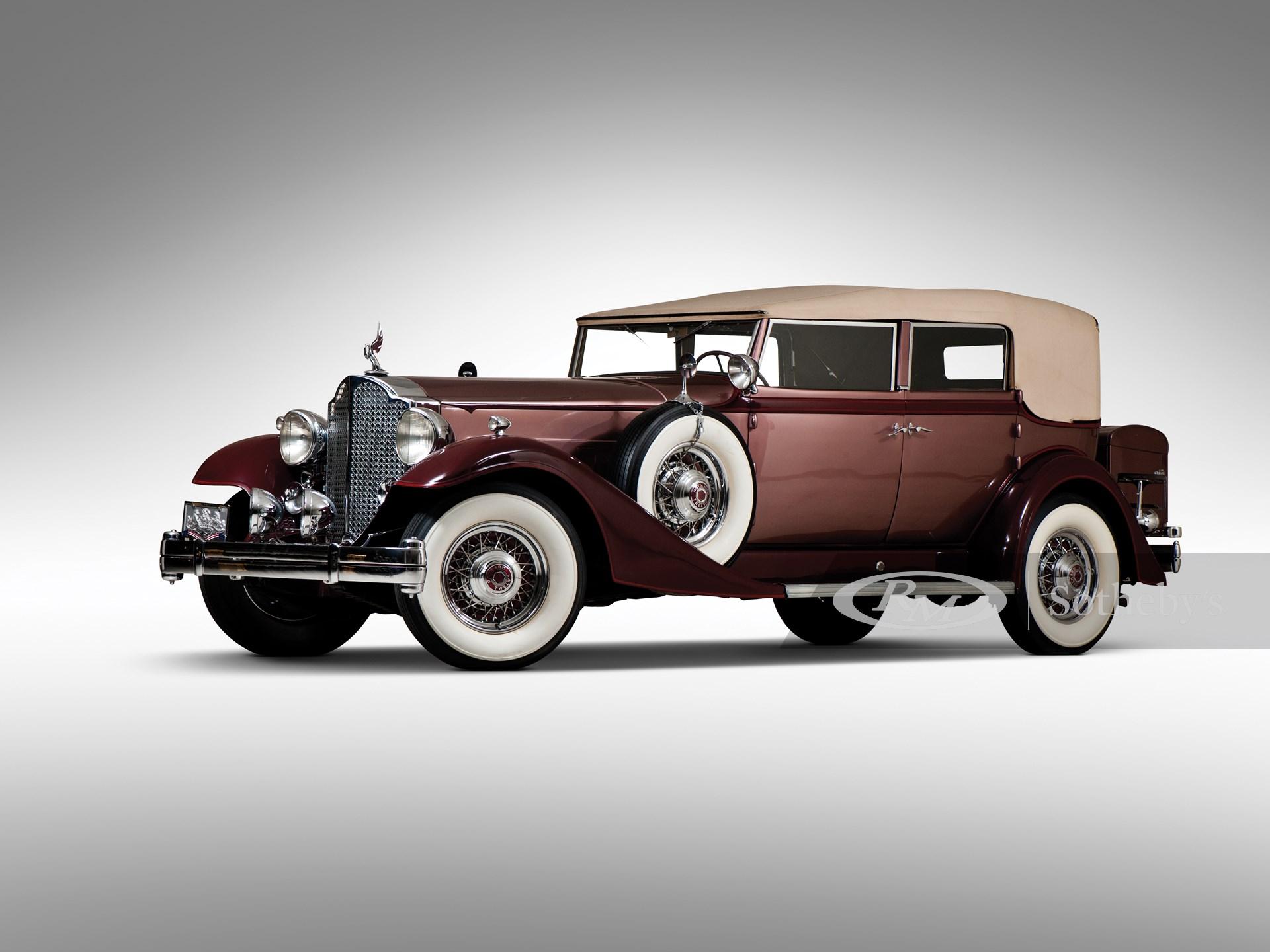 1933 Packard Twelve Convertible Sedan