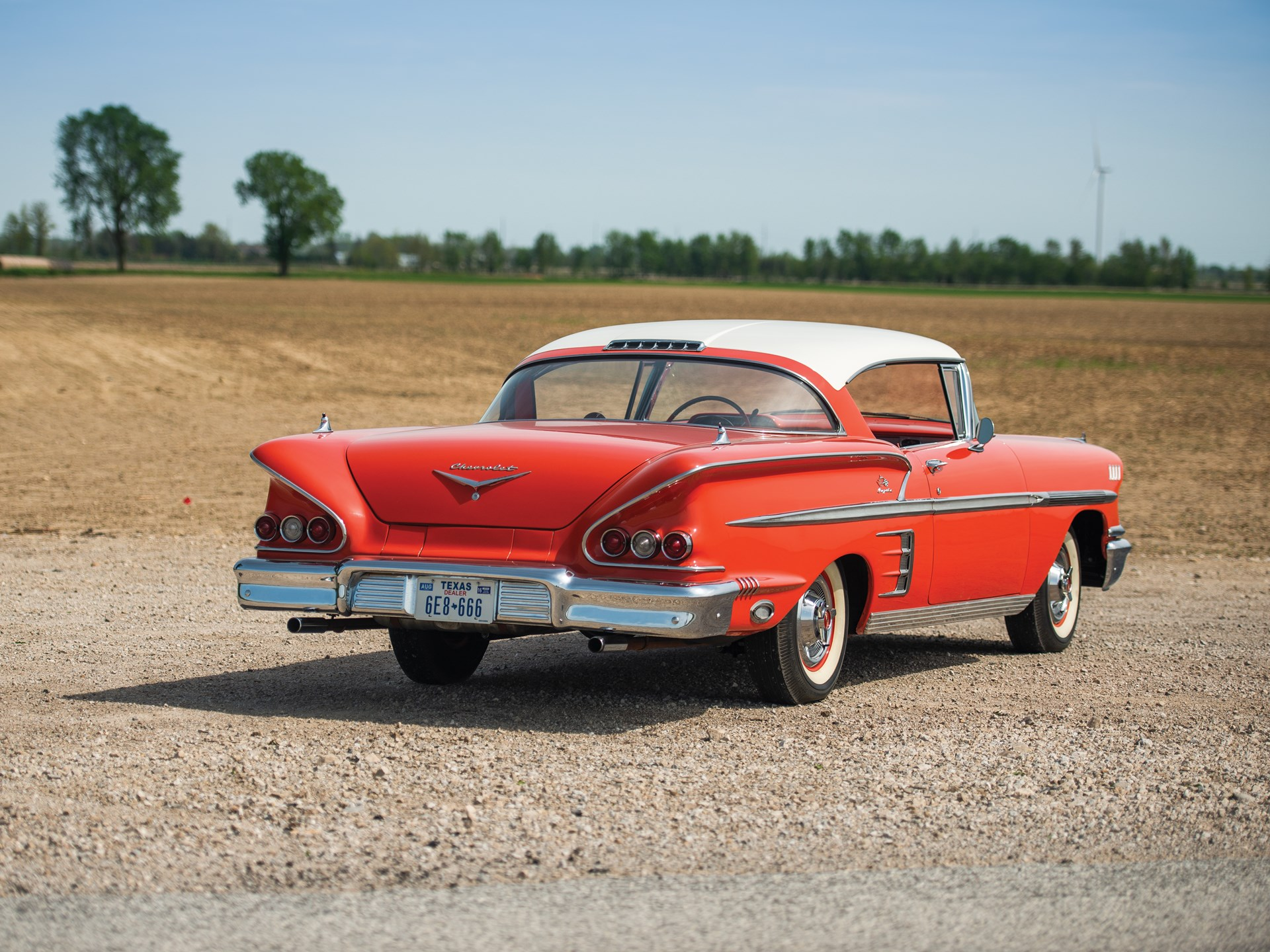 1958 Chevrolet Bel Air Impala Sport Coupe