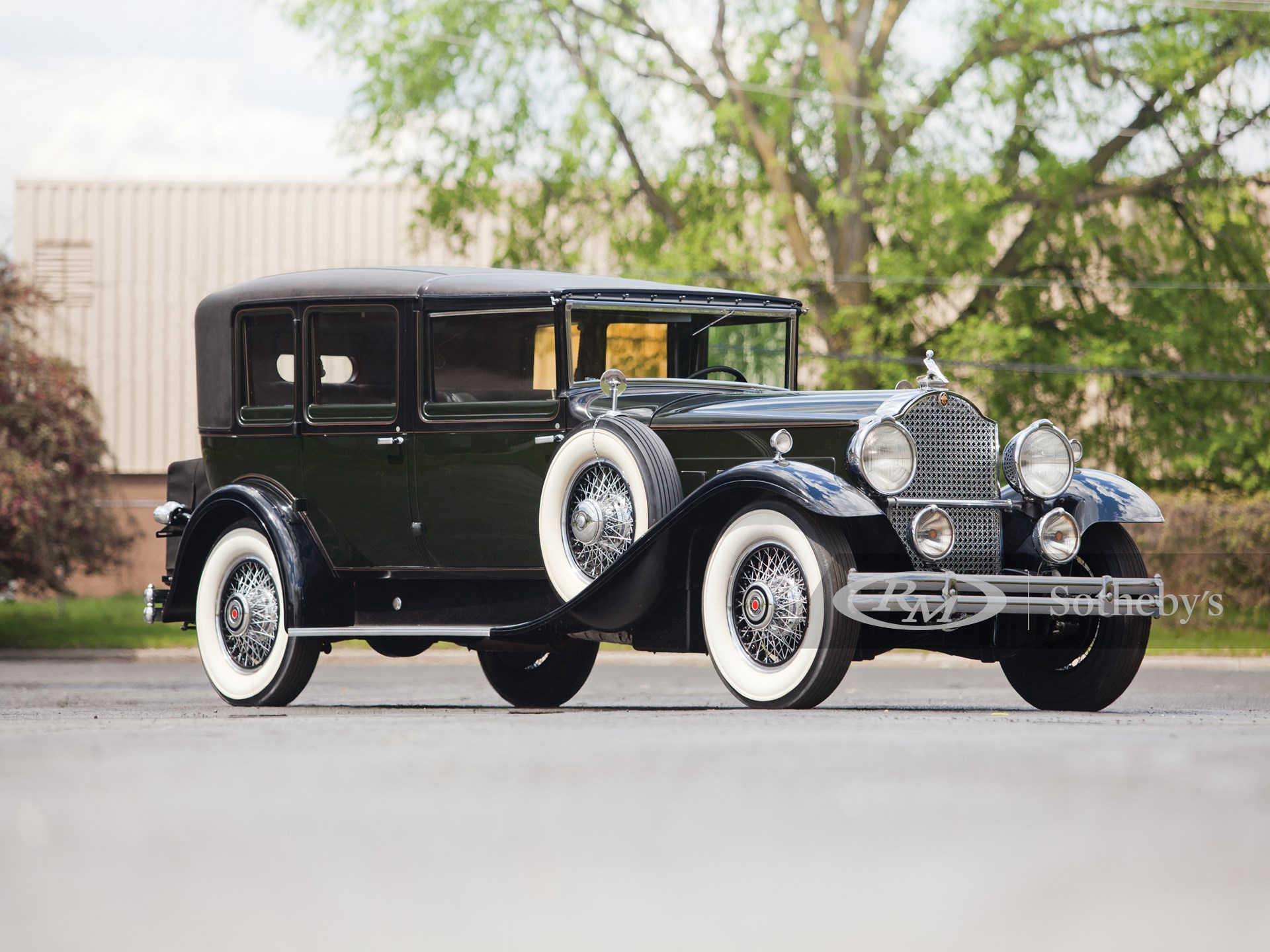 1930 Packard Deluxe Eight All-Weather Town Car by LeBaron