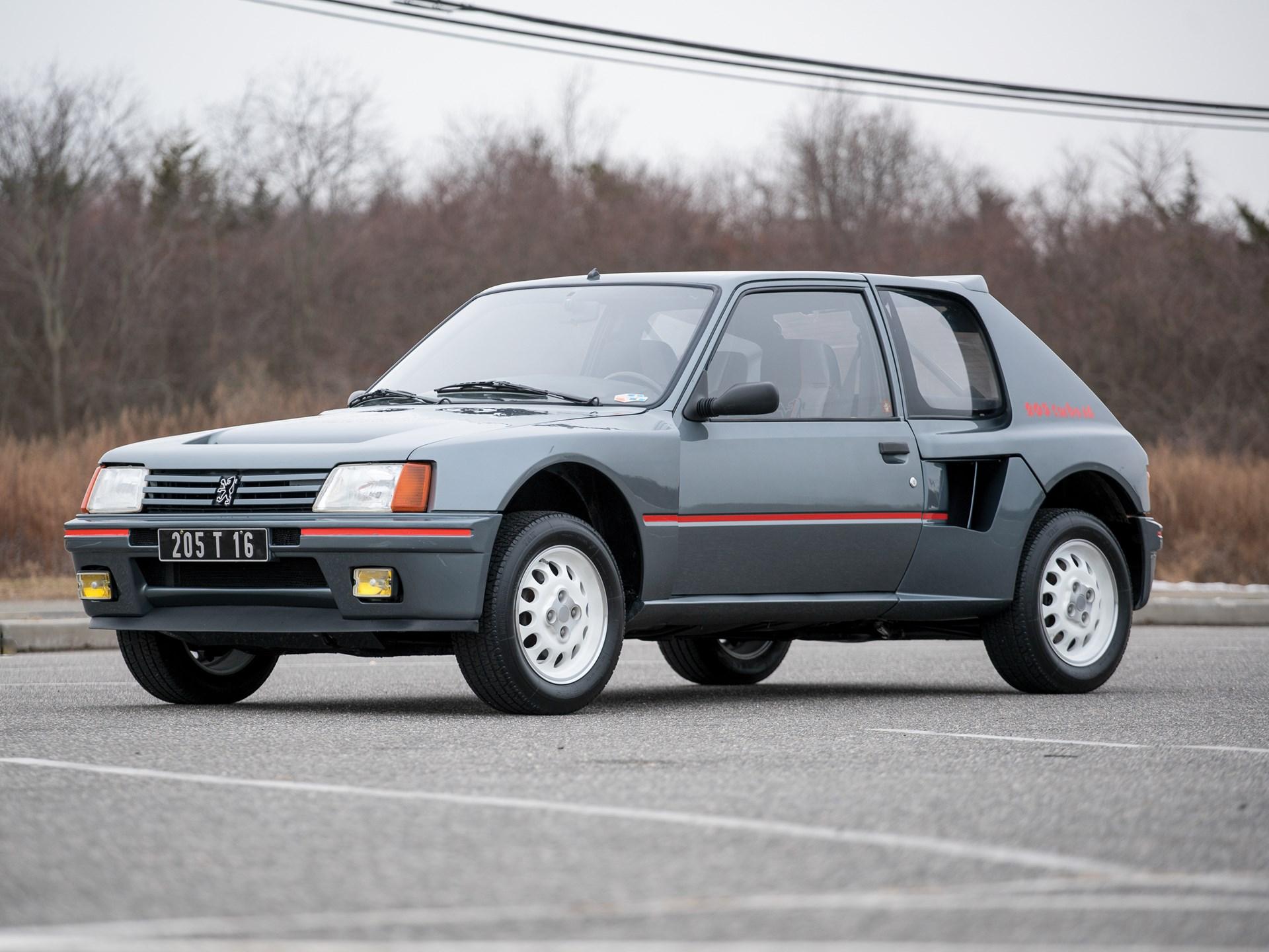 rm sotheby's - 1984 peugeot 205 turbo 16 | amelia island 2018