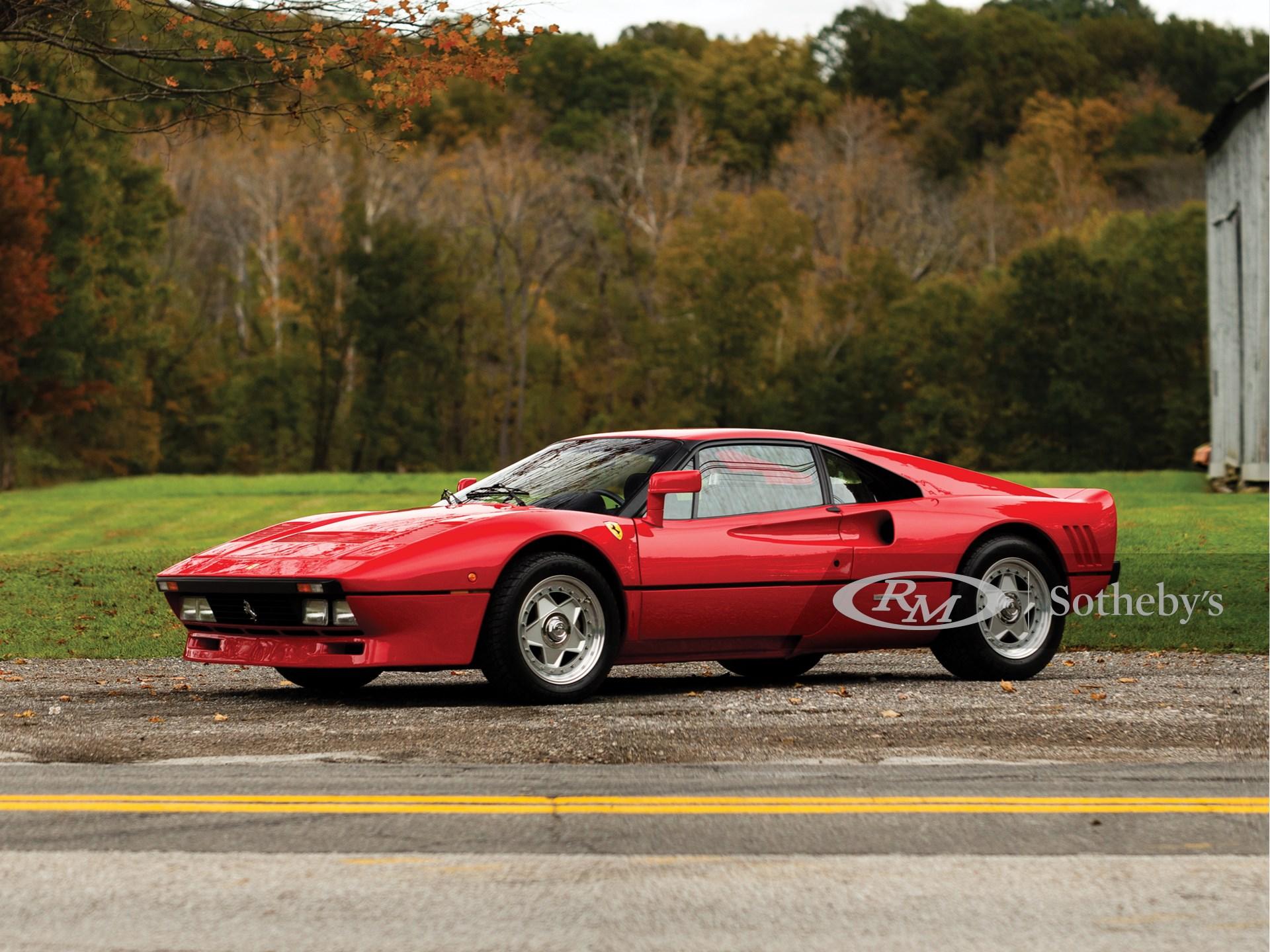 1985 Ferrari 288 Gto Arizona 2019 Rm Sotheby S